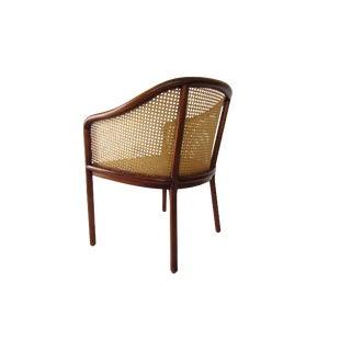 Ward Bennett for Brickel Associates Cane & Oak Chair For Sale