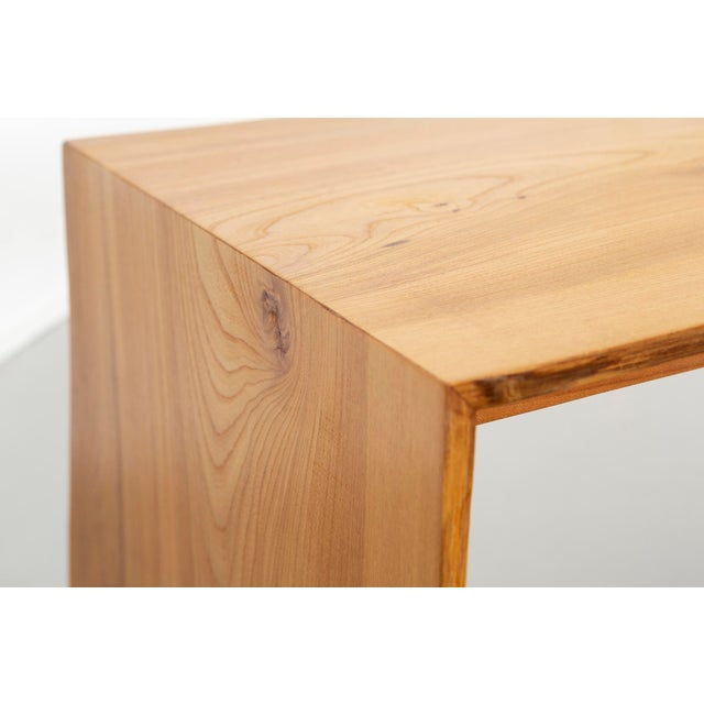 Contemporary It Elmwood Bench For Sale - Image 9 of 12