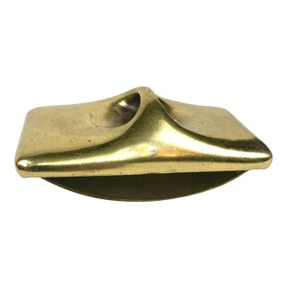 Modernist Brass Rolling Blotter by Ben Seibel For Sale
