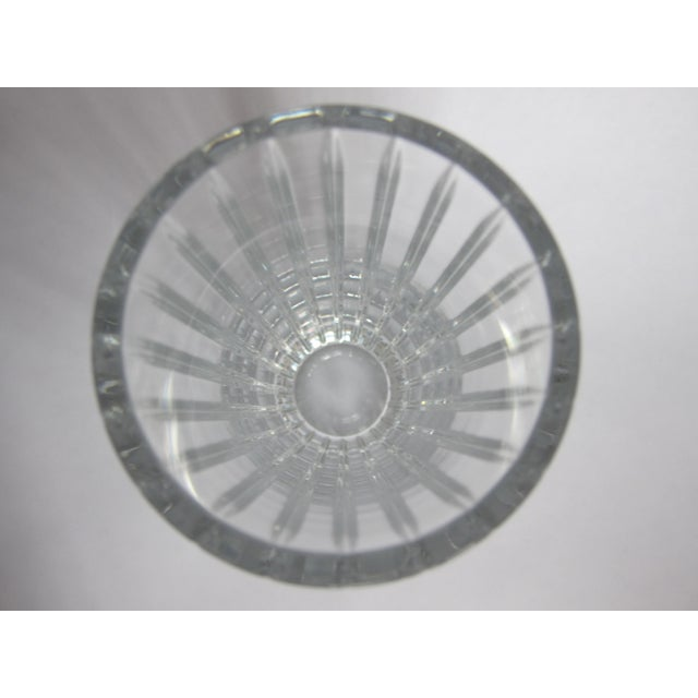 Transparent Baccarat Harmonie Vase For Sale - Image 8 of 10