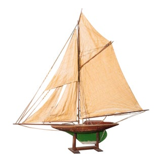 English Pond Yacht, circa 1920 For Sale