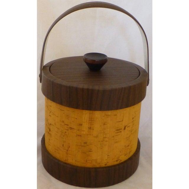 Vintage Cork Ice Bucket - Image 2 of 9