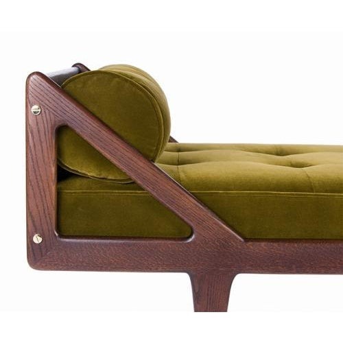 The Charles Daybed by Studio Van den Akker is available in a variety of woods, stains and finishes and can be custom...