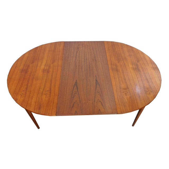 Rosengaarden Teak Dining Table with Leaf - Image 4 of 7