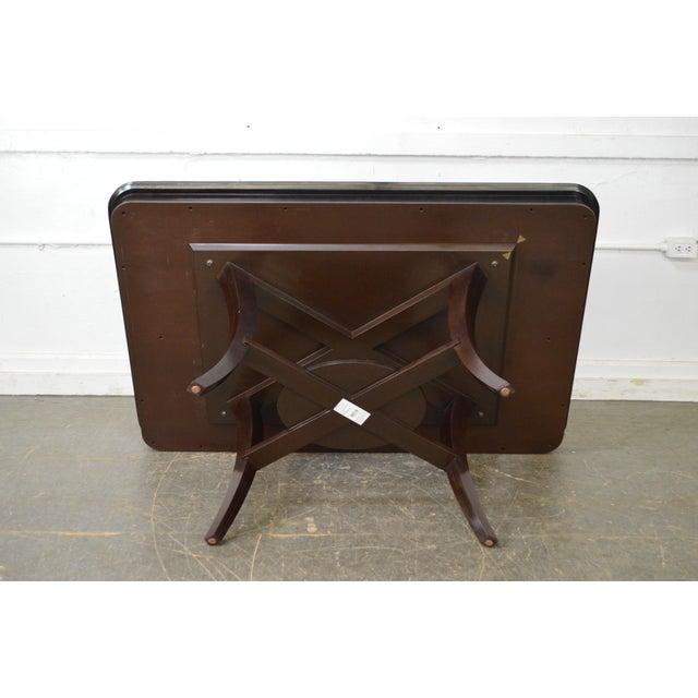 Jonathan Charles Kallos Custom Mahogany Dining Table - Image 2 of 11
