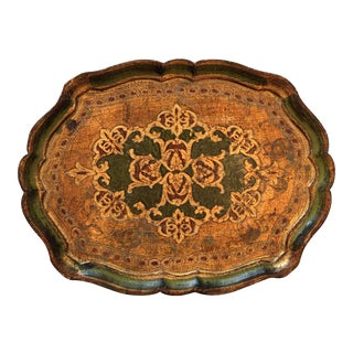 Florentine Painted Wooden Tray