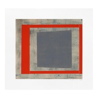 "Elizabeth Gourlay ""Slate Red Ash 1"" Print For Sale"