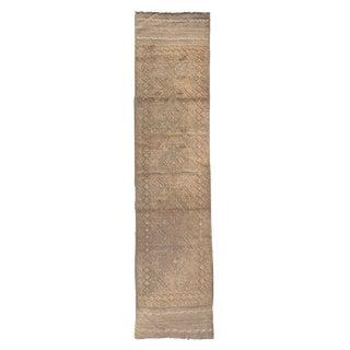Vintage Gabbeh Runner Rug - 1′11″ × 8′7″ For Sale