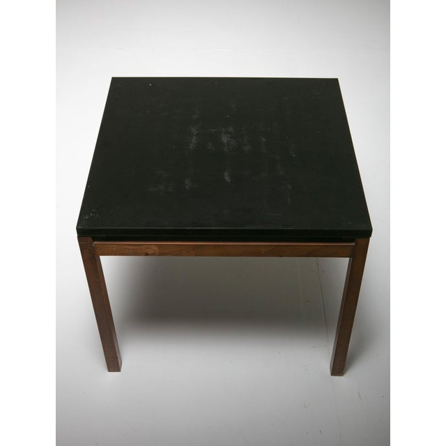 Florence Knoll Set of Two Side Tables by Florence Knoll for Knoll For Sale - Image 4 of 6