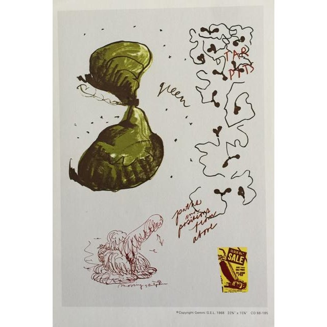 """Claes Oldenburg """"Notes"""" Complete Collection - Set of 12 - Image 5 of 10"""