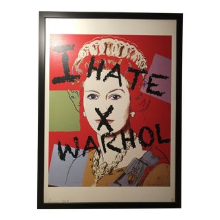 """""""I Hate Warhol"""" Death by Nyc Print For Sale"""