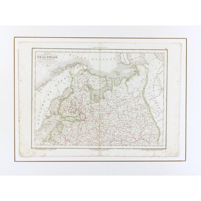 Antique European Russia Map, 1836 - Image 3 of 3