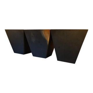 Desiron York Black Oxide Side Tables - Set of 3