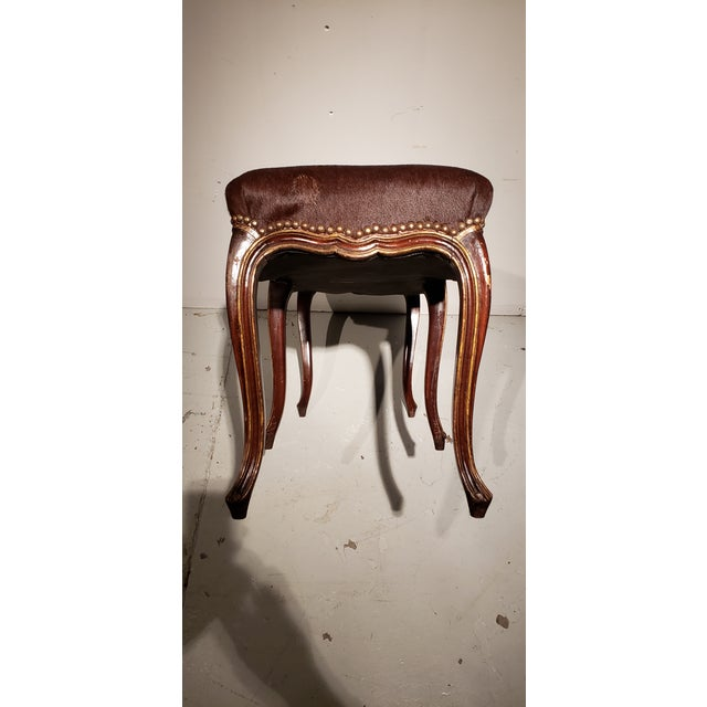 Late 19th Century Late 19th Century French Louis XV Style Bench For Sale - Image 5 of 10