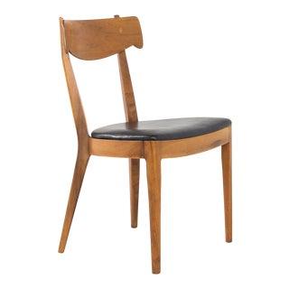 Mid Century Italian Style Kipp Stewart for Drexel Declarations Walnut Dining Chair For Sale