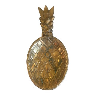 Brass Pineapple Catch-All Bowl