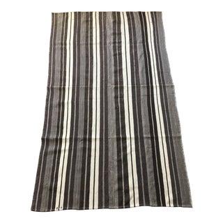 Striped Kilim Flatweave Rug - 5′ × 8′8″ For Sale
