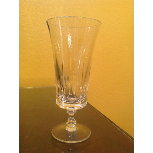 Mid 20th Century 1950s Vintage Crystal Goblets - Set of 8 For Sale - Image 5 of 8