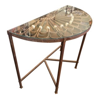 Late 19th Century Italian Garden Table For Sale