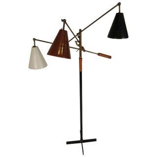 1950s Arredoluce Triennale Floor Lamp For Sale