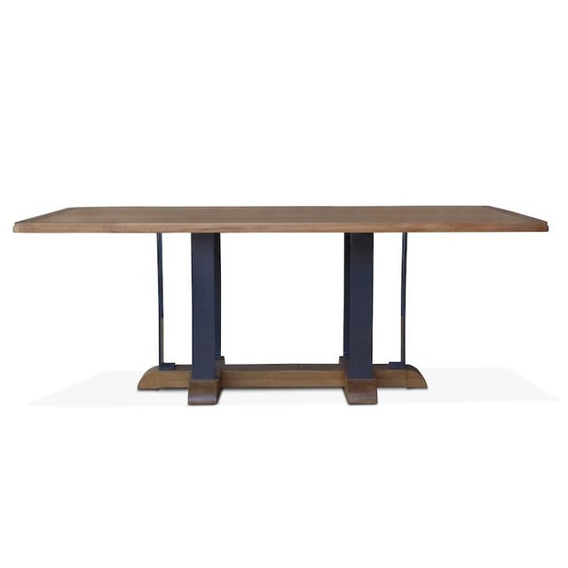 Mid-Century Modern Montecito Dining Table For Sale - Image 3 of 4
