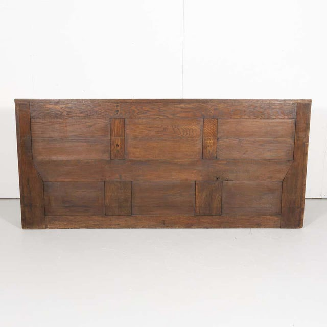 19th Century French Gothic Revival Period Church Pew or Hall Bench For Sale - Image 12 of 13