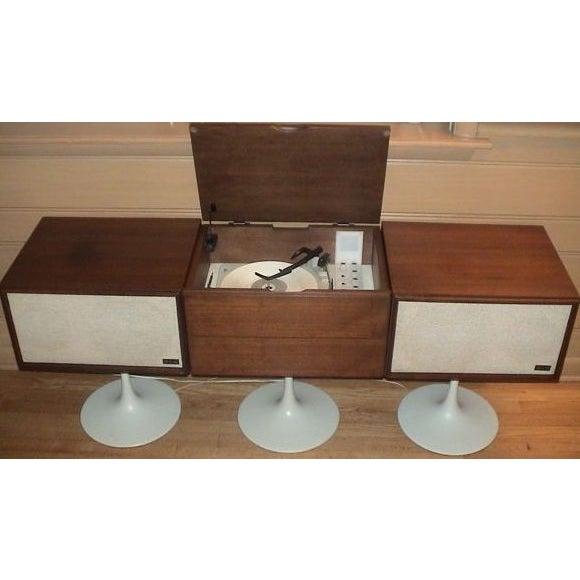 Mid-Century Modern Vintage 1960 KLH 20 Twenty Plus Hi Fi Turntable For Sale - Image 3 of 5