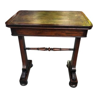 Antique English Regency Ladies Small Writing Desk For Sale