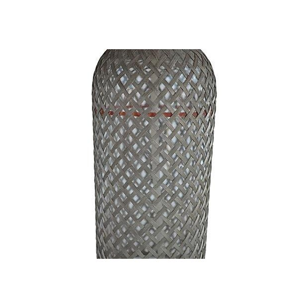 Vintage Seltzer Bottle With Wire Mesh - Image 2 of 4