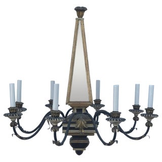 20th Century Italian Vogue Regency Chandelier For Sale