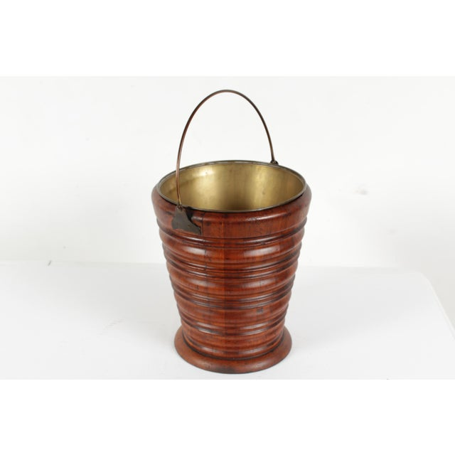 Biedermeier C.1830 Dutch Tea Bucket For Sale - Image 3 of 6
