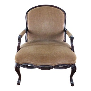 Bernhardt Brown Traditional Chair For Sale