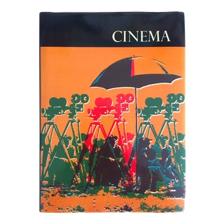 "Vintage 1974 ""Cinema"" Cultural Entertainment Collector's Hollywood History Book"