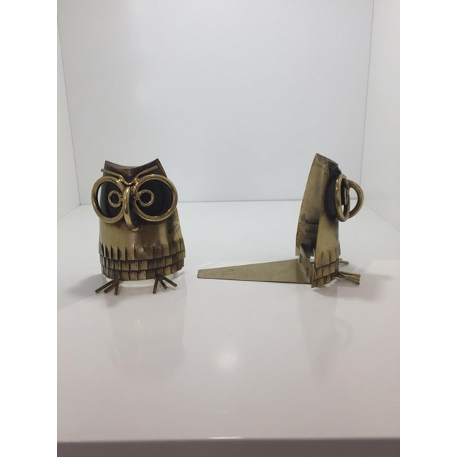 Curtis Jere C. Jere Mid-Century Bookends - A Pair For Sale - Image 4 of 8