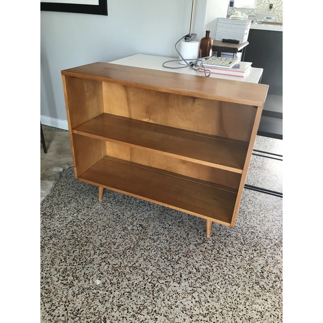 1950s 1950s Mid-Century Modern Paul McCobb Planner Group Maple Bookcase For Sale - Image 5 of 5