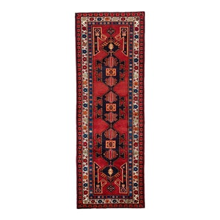 """Mid-20th Century Vintage North West Persian Rug, 3'7"""" X 10'4"""" For Sale"""