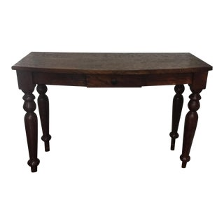 British Colonial Style Console Table
