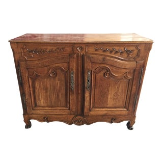Antique French Provincial Sideboard Buffet For Sale