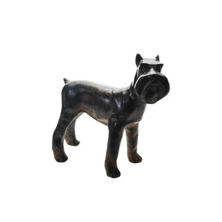 1920s Bronze Scottie Dog Sculpture For Sale