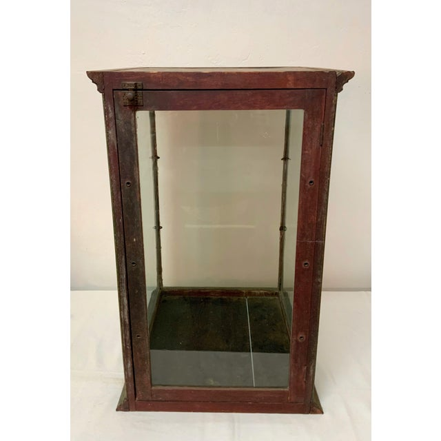 19th Century Display Case For Sale In Los Angeles - Image 6 of 13