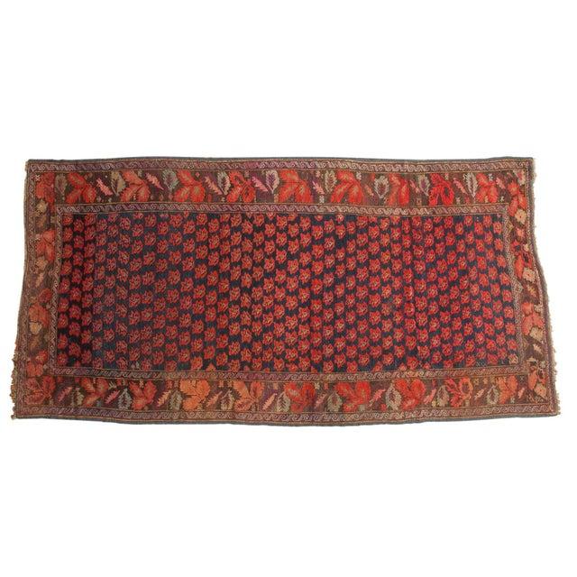 """Antique Karabagh Carpet - 4'9"""" x 9'4"""" For Sale - Image 13 of 13"""