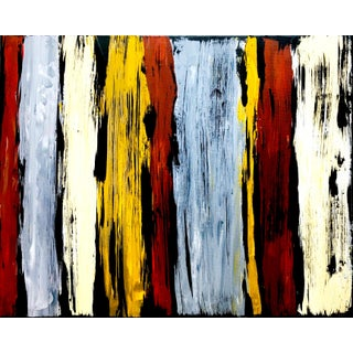 """""""South by West Gold Coast"""" Contemporary Southwestern Original Abstract Acrylic Painting by Tim Hovde For Sale"""