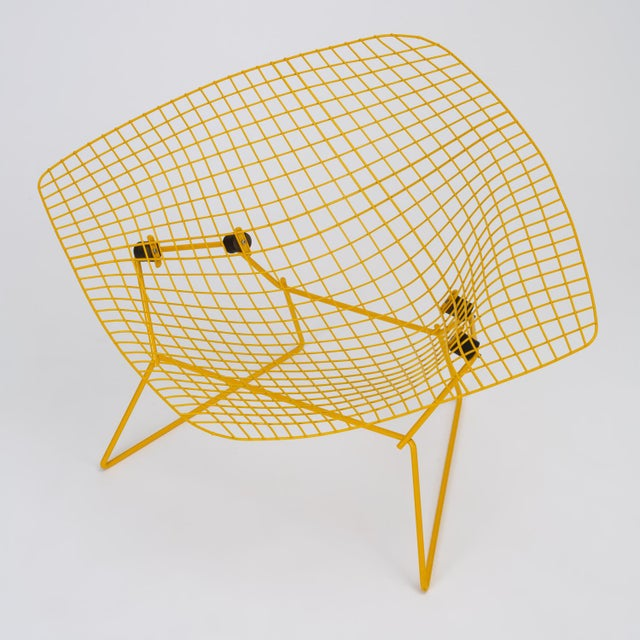Knoll Rocking Diamond Chair by Harry Bertoia For Sale - Image 4 of 12