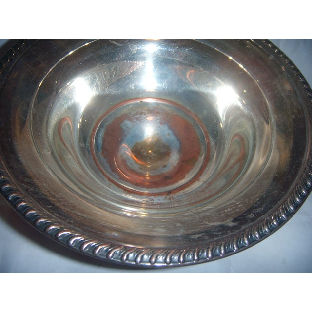 Silver-Plate Pedestal Bowl - Image 6 of 9