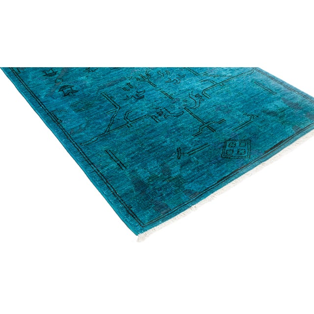 """Vibrance Hand Knotted Runner Rug - 2' 6"""" x 6' 0"""" - Image 2 of 4"""