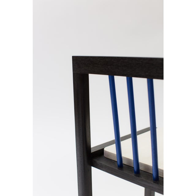 Not Yet Made - Made To Order Steven Bukowski Contemporary Piano Chair in Lacquered Ash For Sale - Image 5 of 8