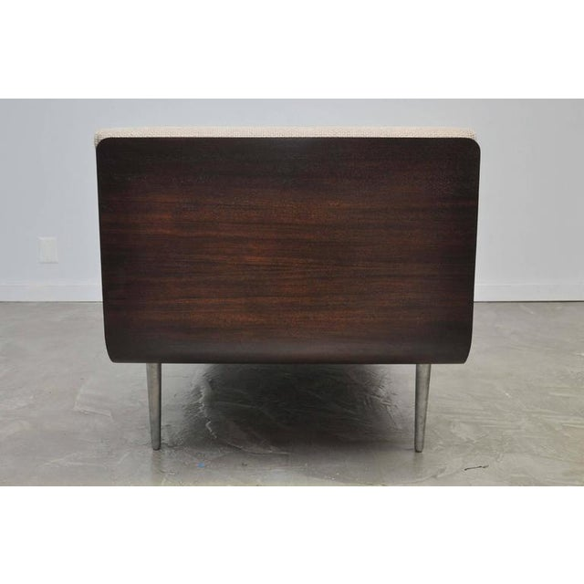 Mid-Century Modern Rare Chaise Longue by Edward Wormley for Dunbar For Sale - Image 3 of 10