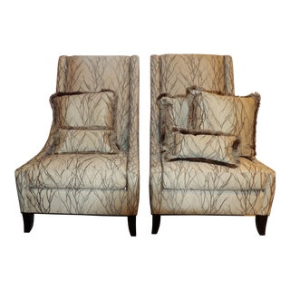 Bernhardt Furniture Accent Chairs- A Pair For Sale