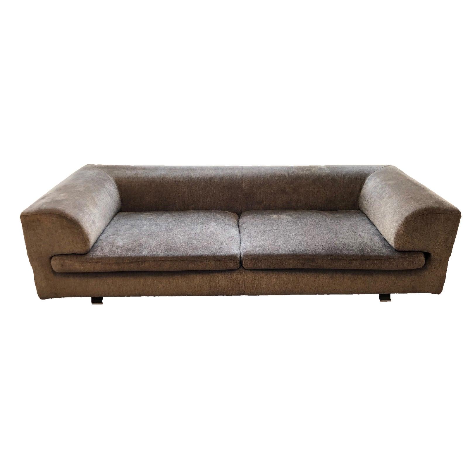 Roche Bobois Elixir Model Upholstered 4-Seat Sofa   Chairish