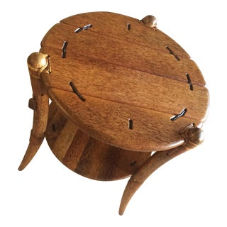 Pacific Green Mendi Rocket Table For Sale